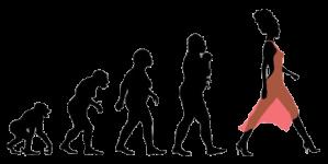 evolution-woman